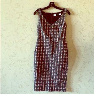 MaxMara Anchor Print Dress